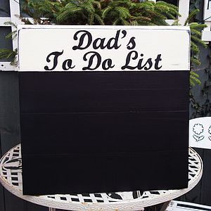 Personalised Large Vintage Wood Chalkboard - outdoor decorations