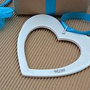 Personalised Porcelain Love Heart