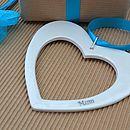 Personalised Porcelain Love Heart