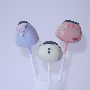 Eight Handbag Cake Pops - sweet treats