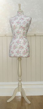 Mannequin Covered With Cath Kidston Floral