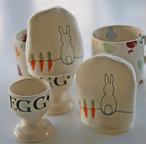 Personalised Bunny Egg Cosy - tableware