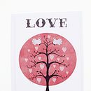 Love Dove Tree Card