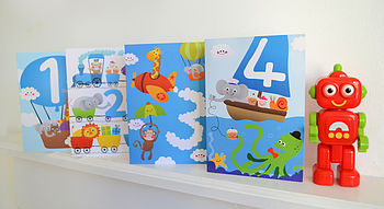 Little Boy's Birthday Cards