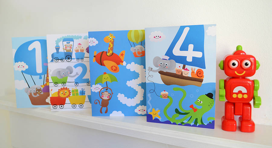 Little Boys Birthday Cards By Jules And Joe Notonthehighstreet