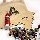 Pixelated Mosaic Letter Kit