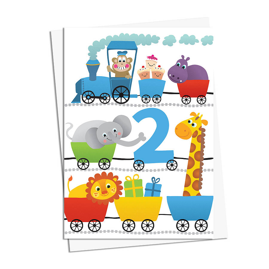 Little boys birthday cards by jules and joe notonthehighstreet little boys 2nd birthday card m4hsunfo