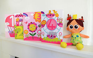 Little Girl's Birthday Cards
