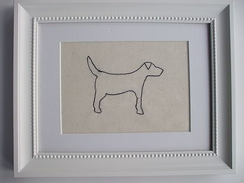 Hand Made Labrador Picture