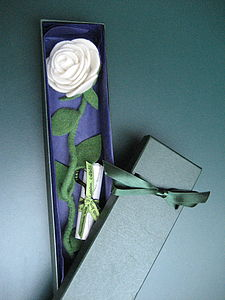 Personalised, Everlasting Rose - fresh & alternative flowers