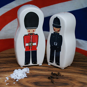 Beefeater And Policeman Salt And Pepper Pots