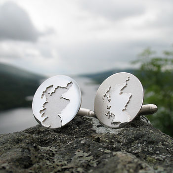 Scotland Coastline Cufflinks