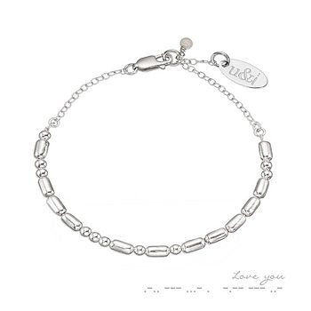 Love You Coded Bracelet