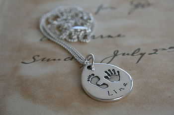 First Impressions Personalised Teardrop Necklace