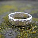 Rocky Outcrop Slim Ring
