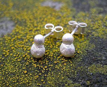 Rocky Outcrop Stud Earrings