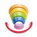 Curves Rainbow Toy