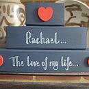 Valentine Shelf Blocks