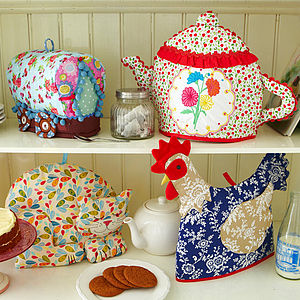Shaped Tea Cosies - easter kitchen