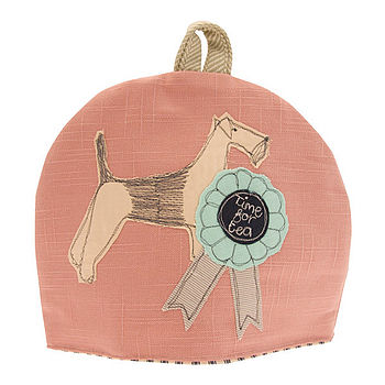 'Time For Tea' Dog Tea Cosy