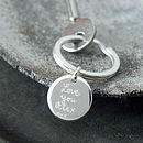 Personalised Disc Key Ring