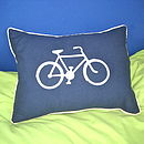Handmade Bicycle Cushion