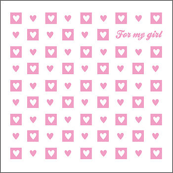 'For My Girl' Valentine's Day Card