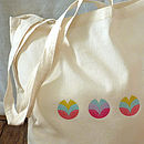 Buds And Blooms Foldable Tote Bag