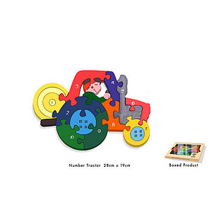 Number Puzzle Educational Toy - puzzles