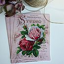 10 Postcard Vintage Wedding Invitations