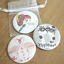 Illustrated Pocket Mirrors