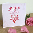 'My Happily Ever After' Valentine's Card