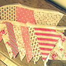 PINK Large Bunting - Can Be Personalised