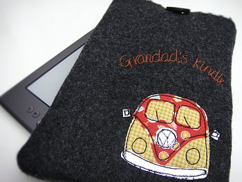 Personalised Campervan Case For Kindle