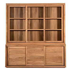 Contemporary Glazed Oak Dresser