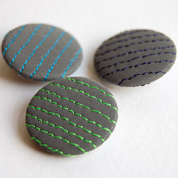 Set Of Three Stripe Reflective Badges