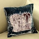 Velvet Crown Cushion