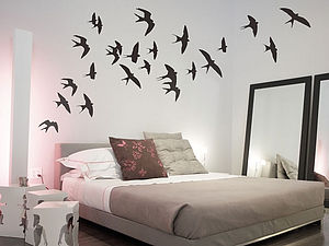 Swallows Wall Stickers - wall stickers