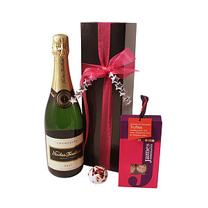 Champagne Partners Hamper - wines, beers & spirits