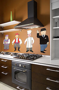 Mr Benn Character Pack One Wall Stickers - decorative accessories
