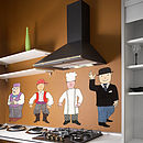 Mr Benn Character Pack One Wall Stickers