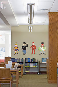Mr Benn Character Pack Two Wall Stickers