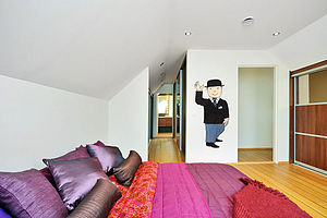 Mr Benn Suit Childrens Wall Sticker