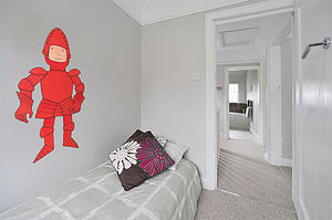 Mr Benn Knight Childrens Wall Sticker