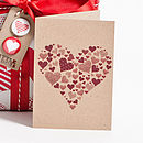 Rustic Heart Greetings Card Collection
