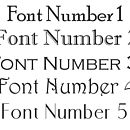 Font Choices