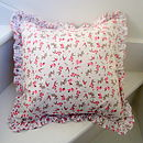 Rosebuds Girls Cushion Cover