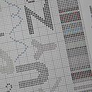 Section of Cross Stitch Pattern