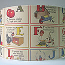ABC Rhyme Lampshade