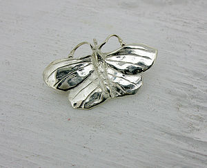 Silver Butterfly Brooch - pins & brooches